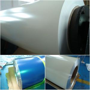 Aluminum PVDF solid color coated Coil Rolls