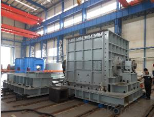 Hammer crusher used on mining, metallurgy and cement plant