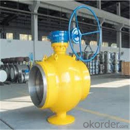 Full Welded Forged Steel Ball Valve DN 14 inch