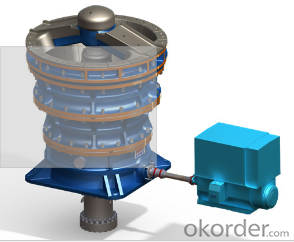 Gyratory  crusher used on mining, metallury and cement plant