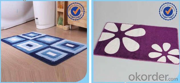 Anti Slip Mat  High quality personalized  Machine Woven door mat