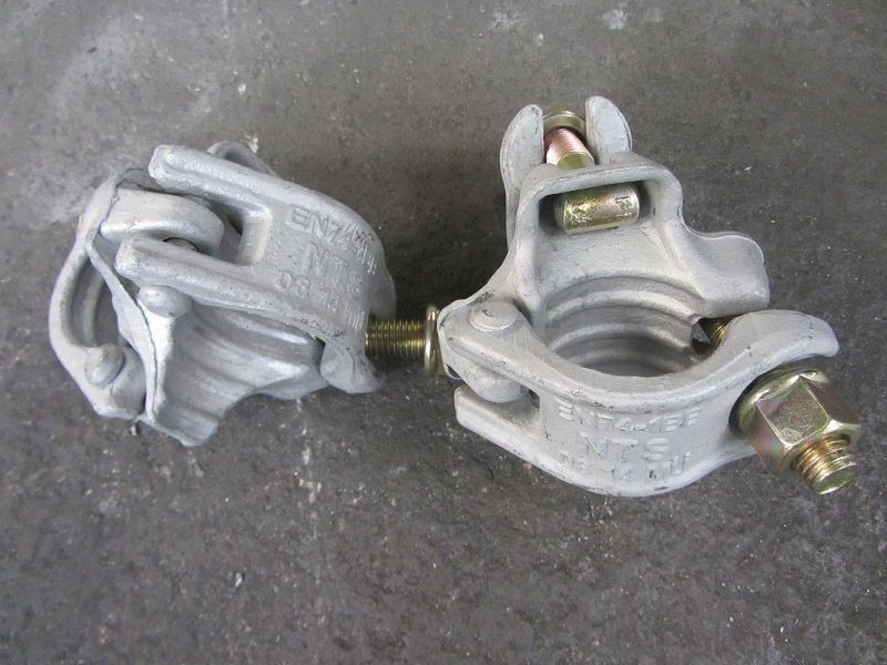 Scaffolding Coupler German Type Steel Galvanized Forged Double  Coupler 48.3