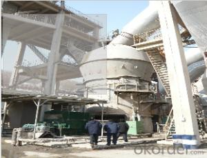 MLS vertical roller mill used in cement plant