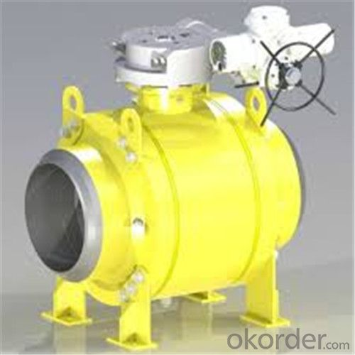 Full Welded Forged Steel Ball Valve DN 6inch