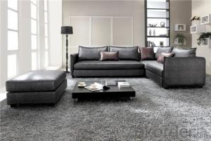 Living Room Sofa Set Fabric Material Velour Model 812