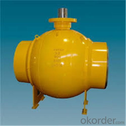 Full Welded Forged Steel Ball Valve DN 34 inch
