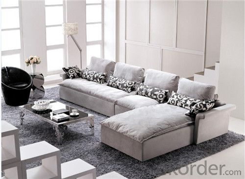 Living Room Sofa Set Velvet Fabric Model 808