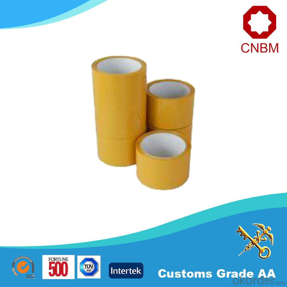 Opp Tape Yellowish Tape Low noice High Quality