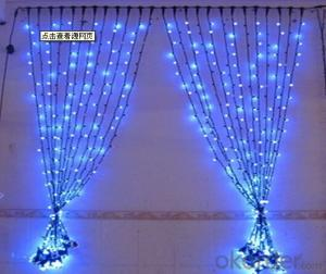 led curtain lighting and icicle lighting