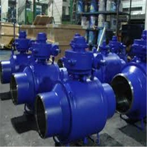 Full Welded Forged Steel Ball Valve DN 28 inch