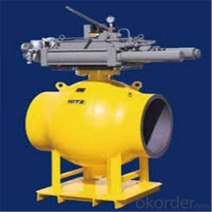 Full Welded Forged Steel Ball Valve DN 20 inch
