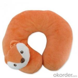 U Shape Pillow with Cute and Colorful Aminal Style