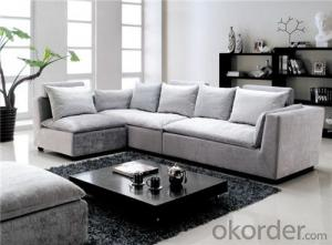 Saloon Sofa Set Fabric Material Velour Model 826