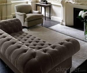 Living Room Sofa Set Velvet Material Model 805