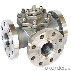 Ball Vavle /Api 2pc Flanged Ball Valve with Good Quality