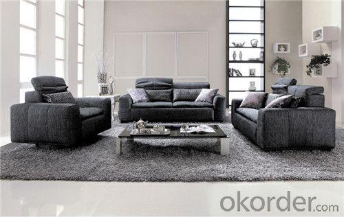 Living Room Sofa Set Fabric Material Velour Model 827