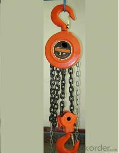 0.5t Explosion-Proof manual pulley Chain Hoist/ chain block