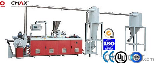 CMAX  Co-rotation Parallel Twin-screw Pelletizing Machiney  CMAX65