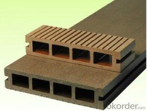 waterproof wooden plastic landscaping flooring WPC