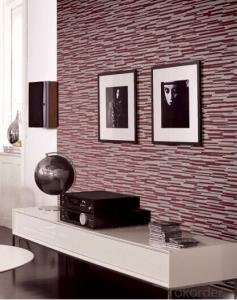 Non-woven Wallpaper New Modern Fashion Design High Foaming Wallpaper for Living Room