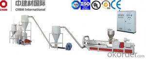 WPC Pelletizing Machine For PVC/PE Granulation