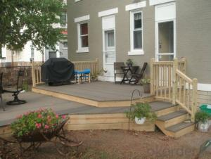Out Decking/WPC interlocking decking/ anti UV  WPC