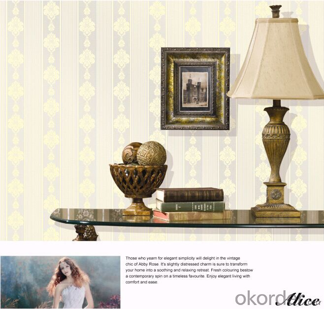 Non-woven Wallpaper China Supplier Direct Wholesale Cheap Wallpaper
