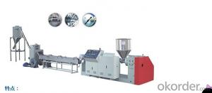 CMAX Serious Single Screw Pelletizing Machinery