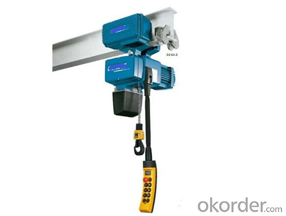Buy 32 Tons Electric Chain Hoist With Electric Trolley