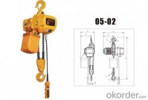 DHK 3ton Chain Hoist Electric High Quality