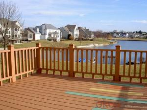 Out Decking/2015 Cheap Composite WPC Decking