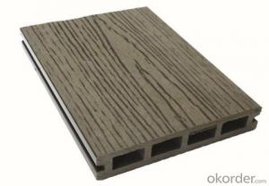Wood Plastic Composite Hollow Decking WPC Outdoor