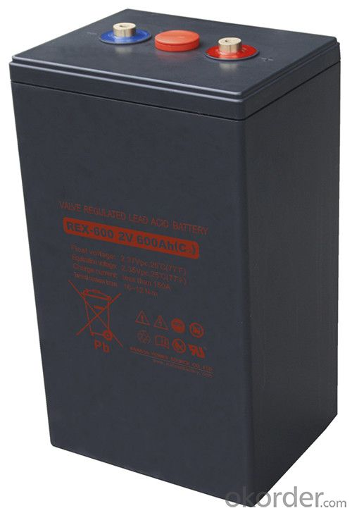 Solar Battery REX Series for Solar and Wind Power REX-1200