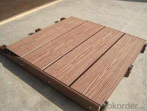 Wooden Decking/High Quality WPC Co-extrusion Decking