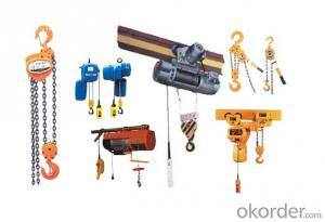 Model 0.9t CD1/MD1 wire rope Electric hoist manufacture