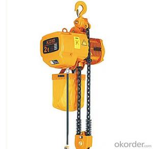1.5t electric chain hoist/chain block/chain hoist