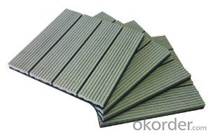 Engineered Flooring Outdoor Wood Plastic Composite WPC Decking /2015 Hot Sale