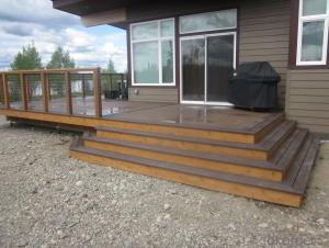 WPC swimming flooring/decking / Composite Lumber/2015 Hot Sale