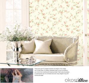 Non-woven Wallpaper Modern Waterproof for Living Room