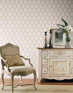 Non-woven Wallpaper 2015 Luxury High Foam Wallpaper Used in Hotel Decoration