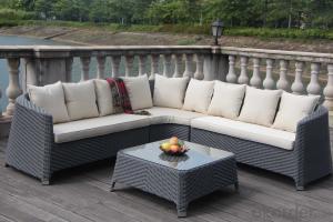 Outdoor Furniture Hot Sale Rattan Sofa Set Patio Wicker