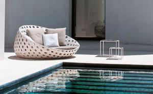 Patio Sun Bed  Rattan Sun lounger Wicker Outdoor Furniture
