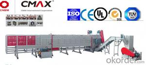 CMAX Plastic Pipe Shredder Unit For PE/PP/PVC
