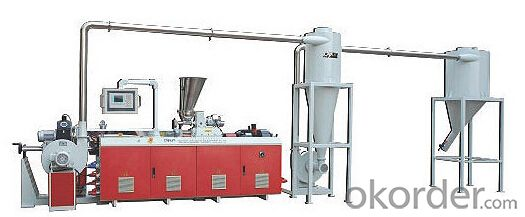 High Output PVC Waterproof Extrusion Line Double layers