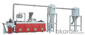 CAMX Co-rotation Parallel Twin-screw Pelletizing Machine