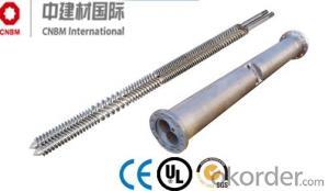 Parallel Twin Screw and Barrel For Plastic Extrusion