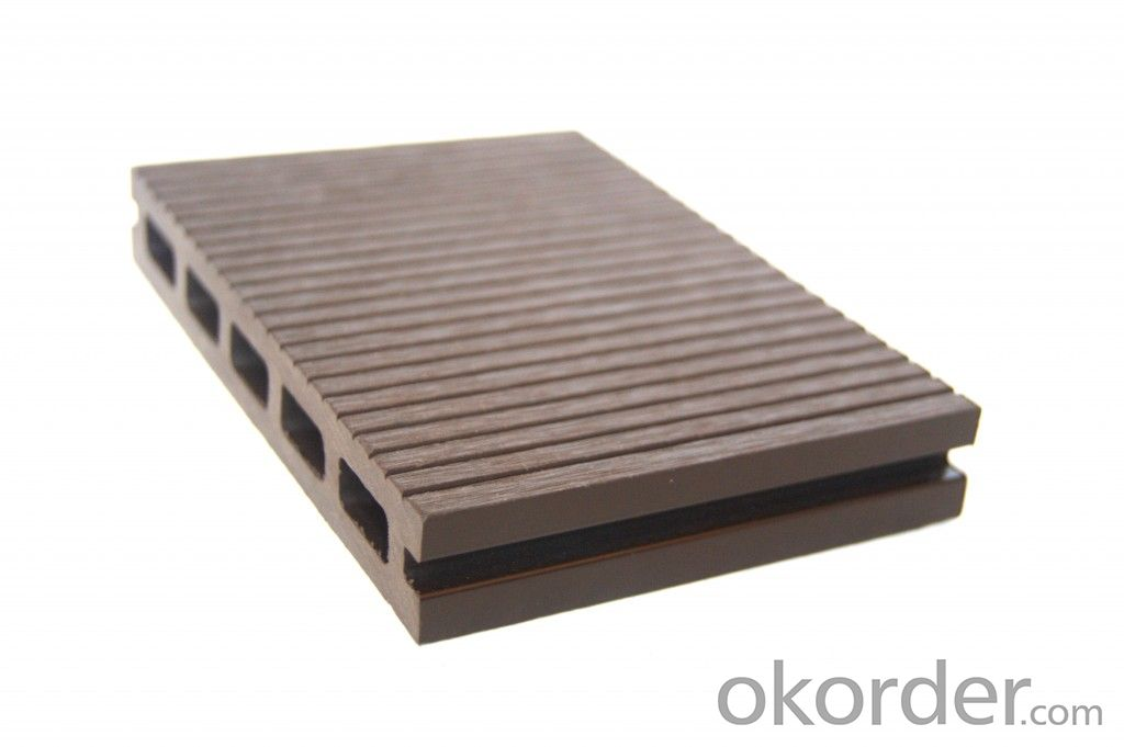 Buy wpc decking eco freindly wood plastic composite price for Plastic composite decking