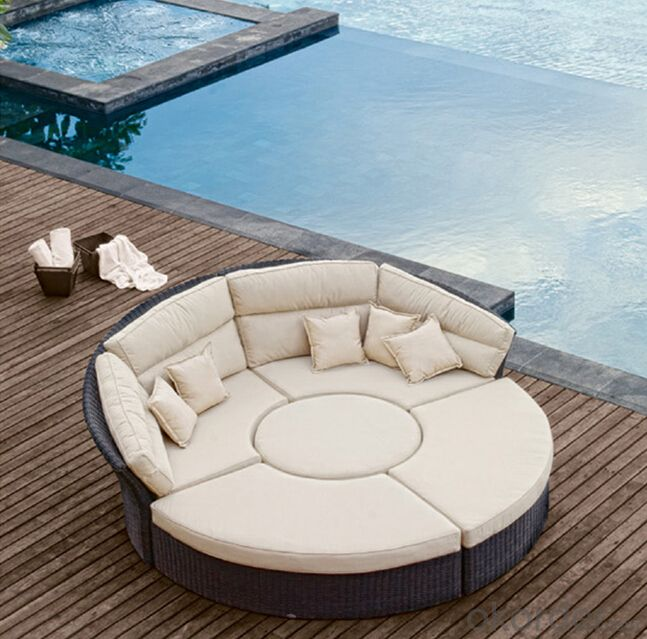 Patio Sun Bed  Rattan Sun lounger Wicker Outdoor Furniture