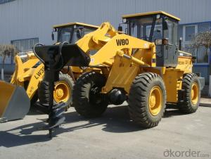 3 Ton Wheel Loader with Auger (GOST-R) for Sale
