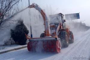 Snow Loader, Snow Blower Loader, 4 Wheel Snow Blower Loader